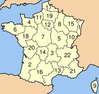 フランスの地域圏